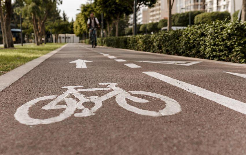 Alumbrado de carriles bici