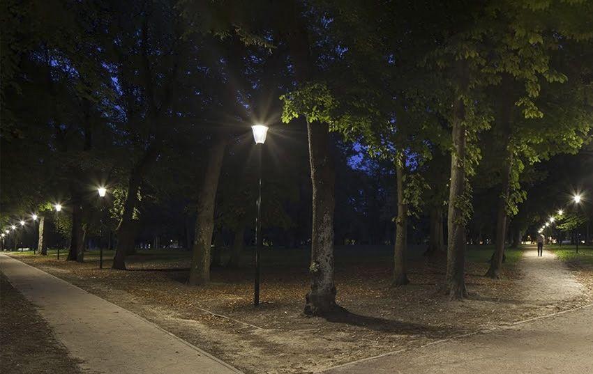 Iluminación de Parques