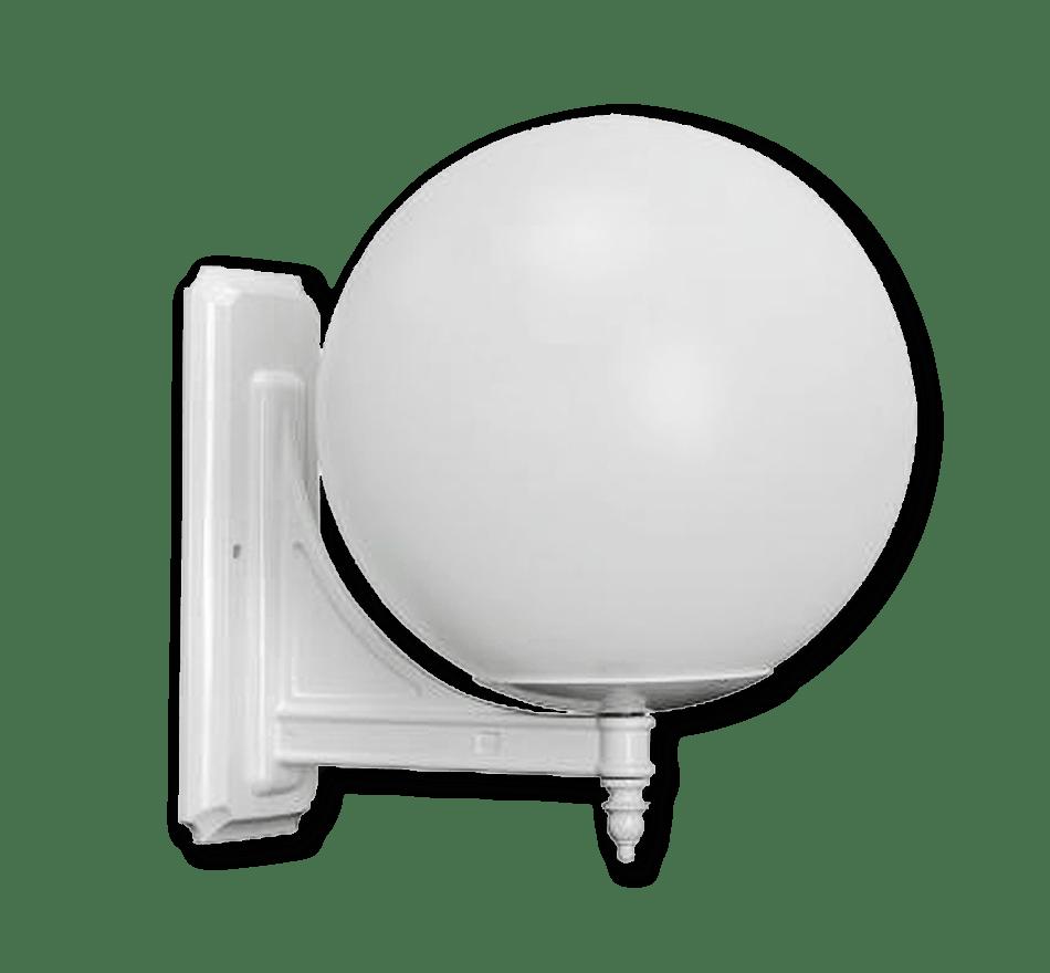 Conjunto de aplique con luminaria Esférica - Ref. 710