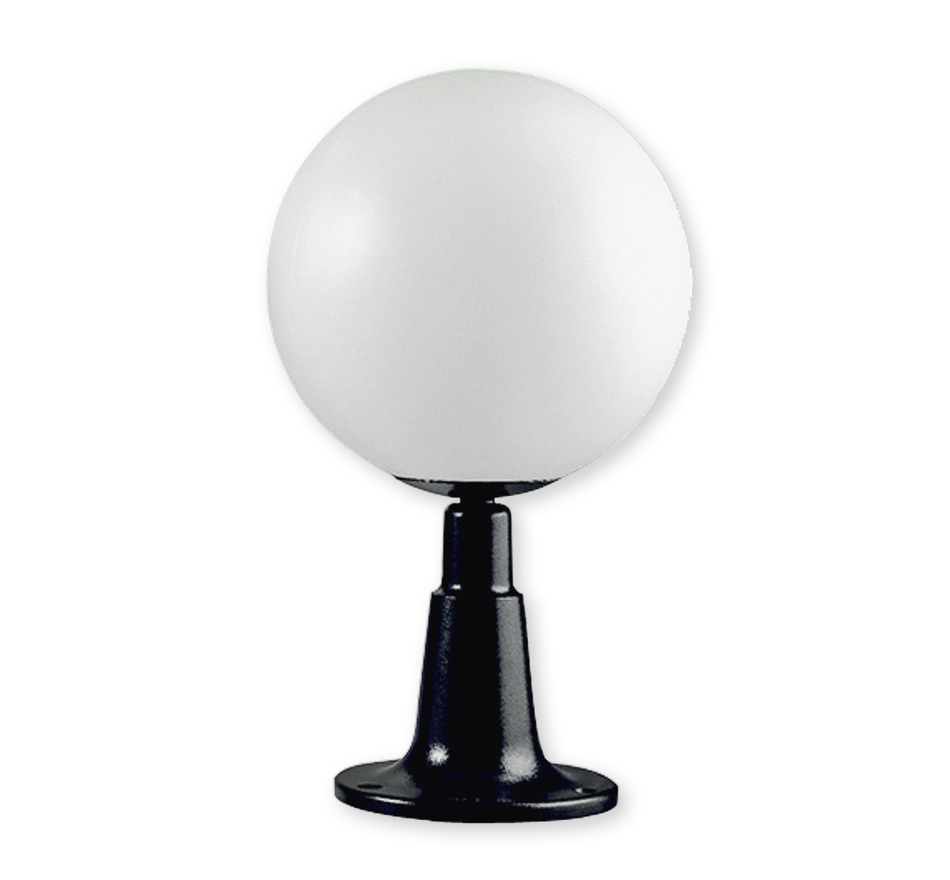 Conjunto de sobremuro con luminaria Esférica - Ref. 712