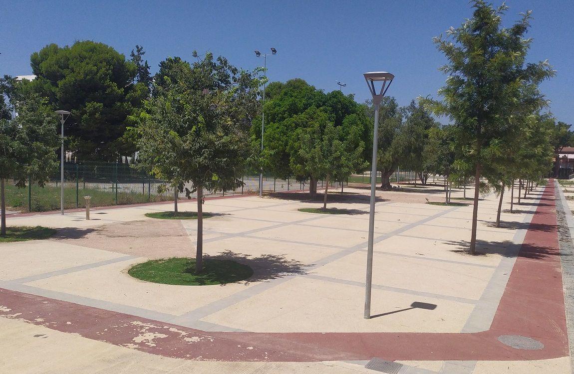 Luminarias ambientales LED para parques y jardines