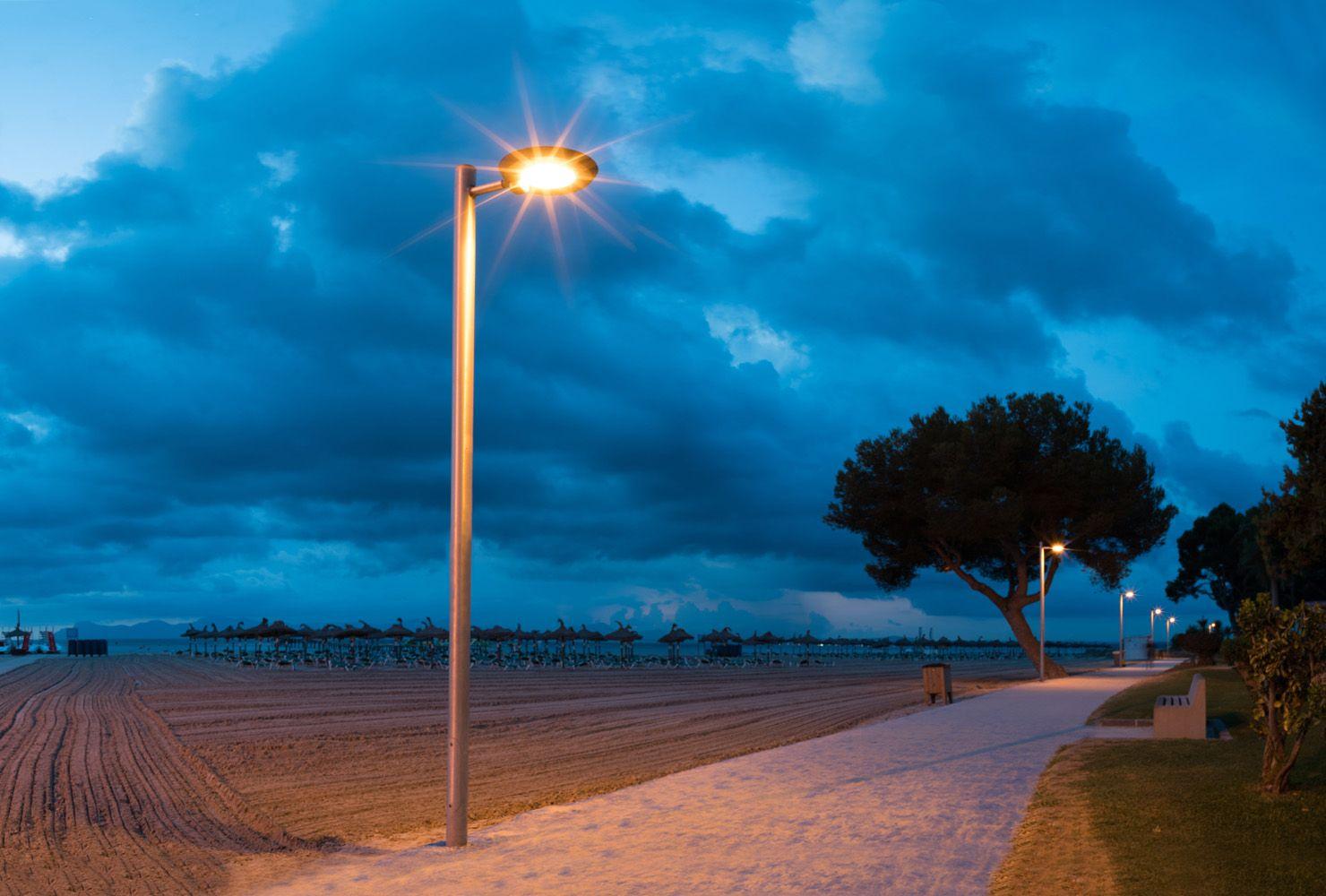 Ambientes idóneos con la Luminaria Sigma LED 714-D