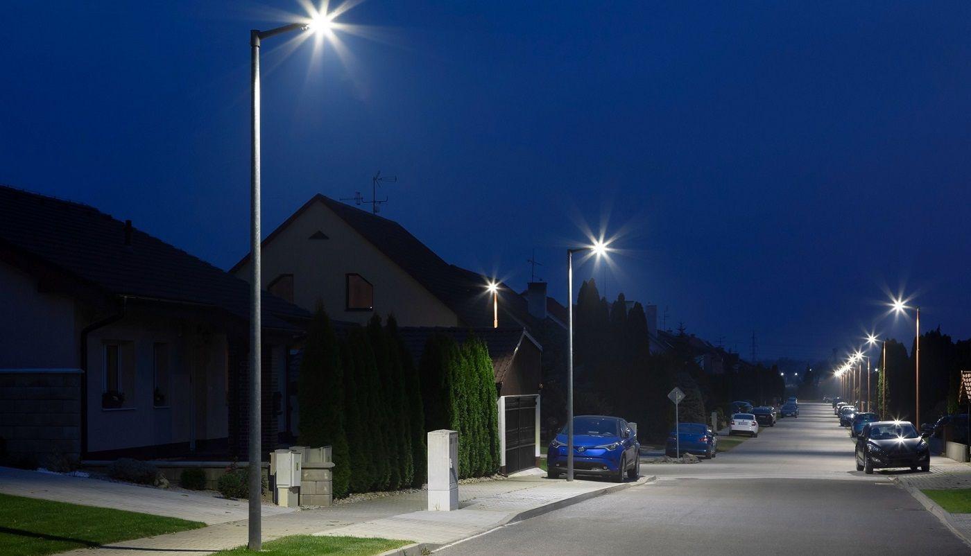 Iluminación de calles residenciales con la luminaria MAYJA Ref.788