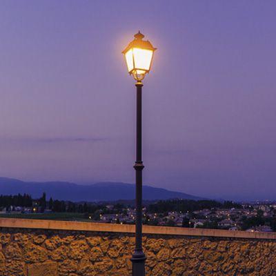 El diseño tradicional de luminarias combinado con la última tecnología LED