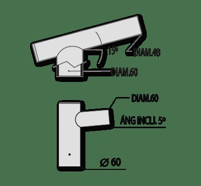 Codos conexión – Ref. 823-824