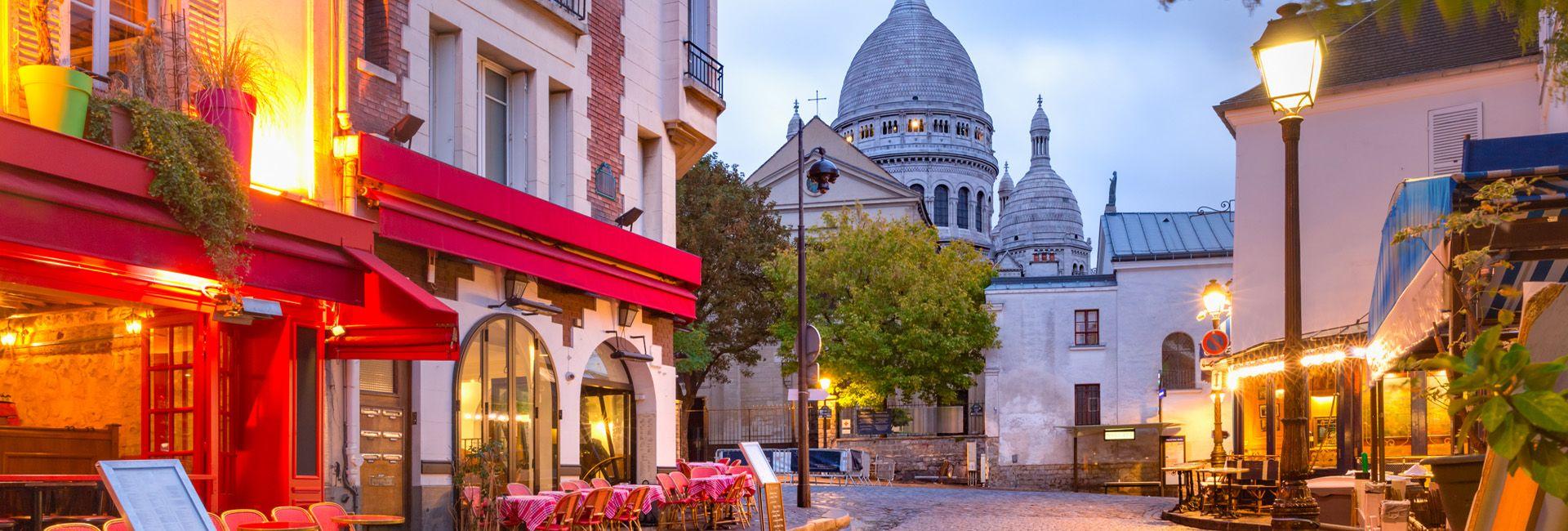 Ambiente romántico iluminado con farola Villa de estilo clásico