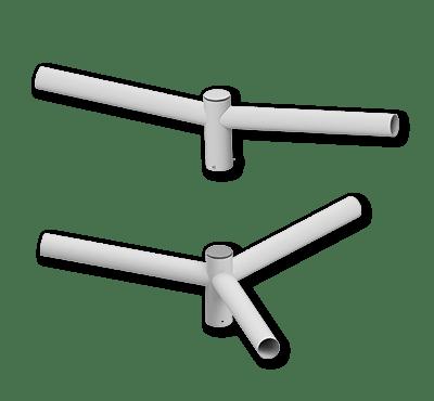 Crucetas para Luminarias – Ref. 821