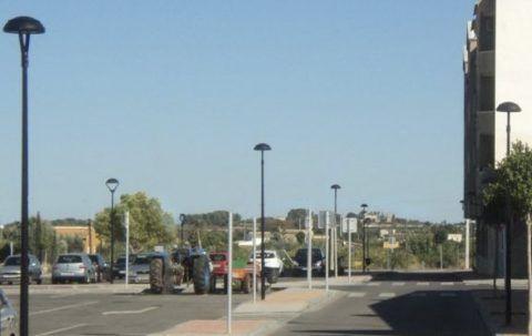 Iluminación de aparcamientos exteriores y estacionamientos