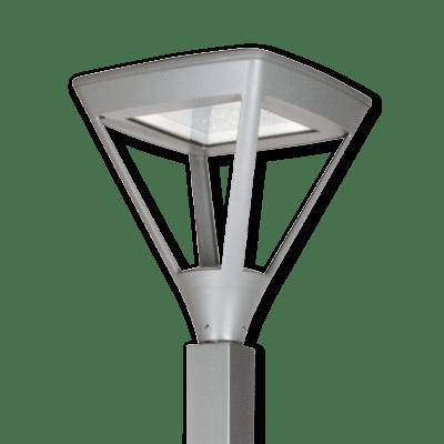 Luminarias con diseños y acabados que se adaptan a tu proyecto