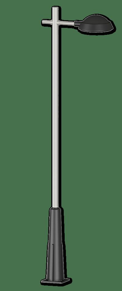 Columna con Base de Fundición - Refs. 757-758-759-760