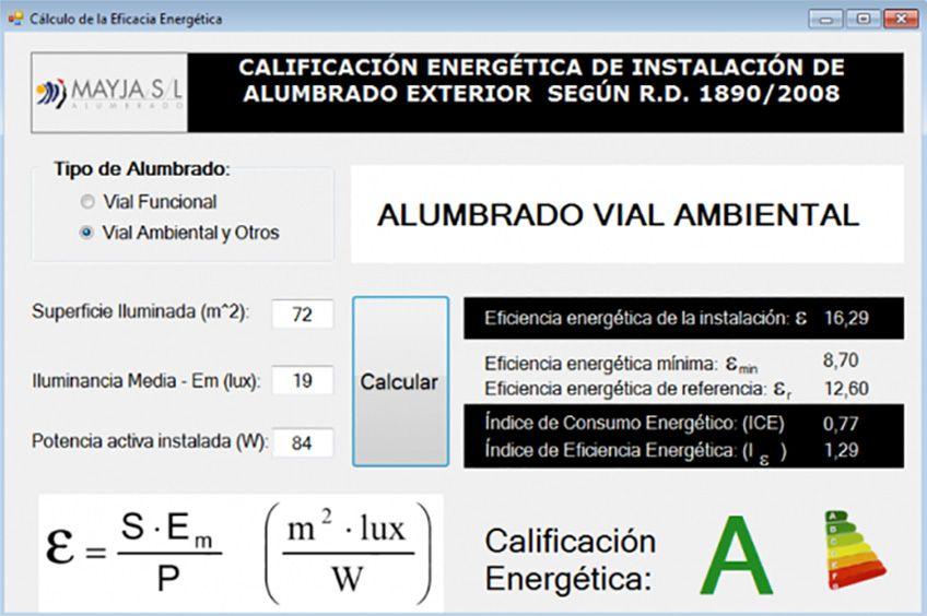 Calcula la Calificación Energética con Mayja