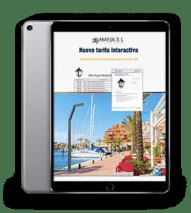 Tarifa Interactiva en PDF
