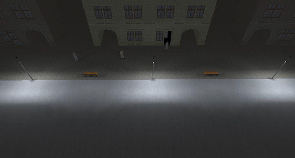 Óptica Asimétrica vial CLASE-M