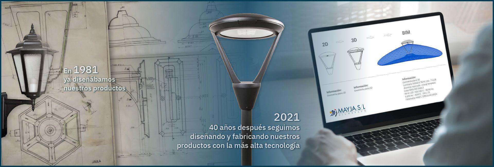 Desde 1981 DISEÑANDO y FABRICANDO nuestros productos con la más alta tecnología