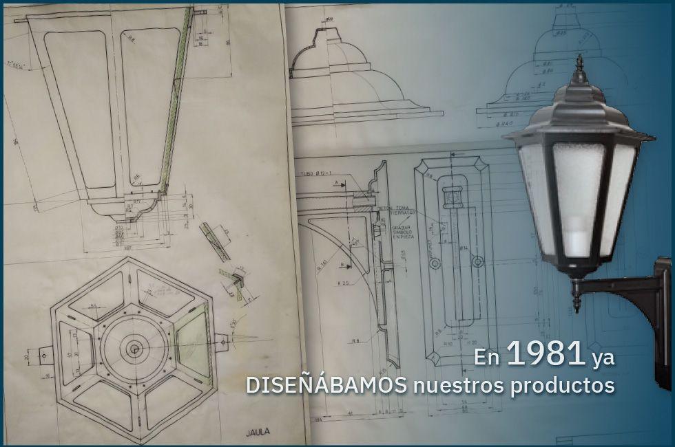 En 1981 ya DISEÑÁBAMOS nuestros productos